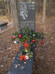 Bernie's memorial